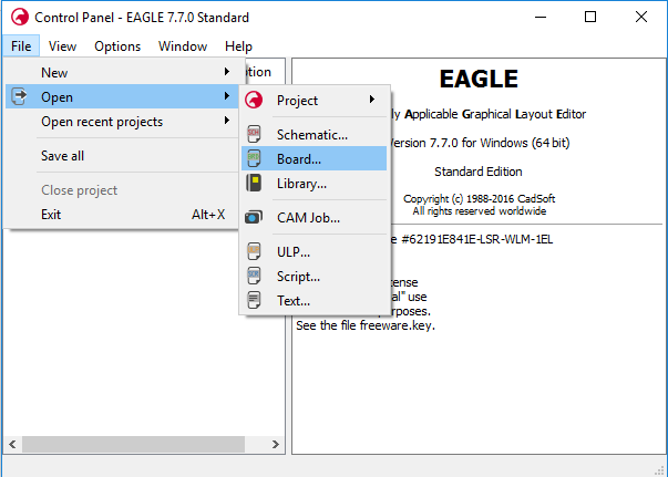 How to Export Gerber Files from Eagle - Bittele