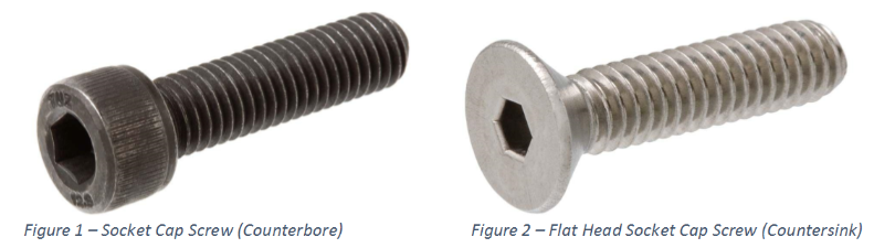 The Difference Between Counterbore And Countersink Holes
