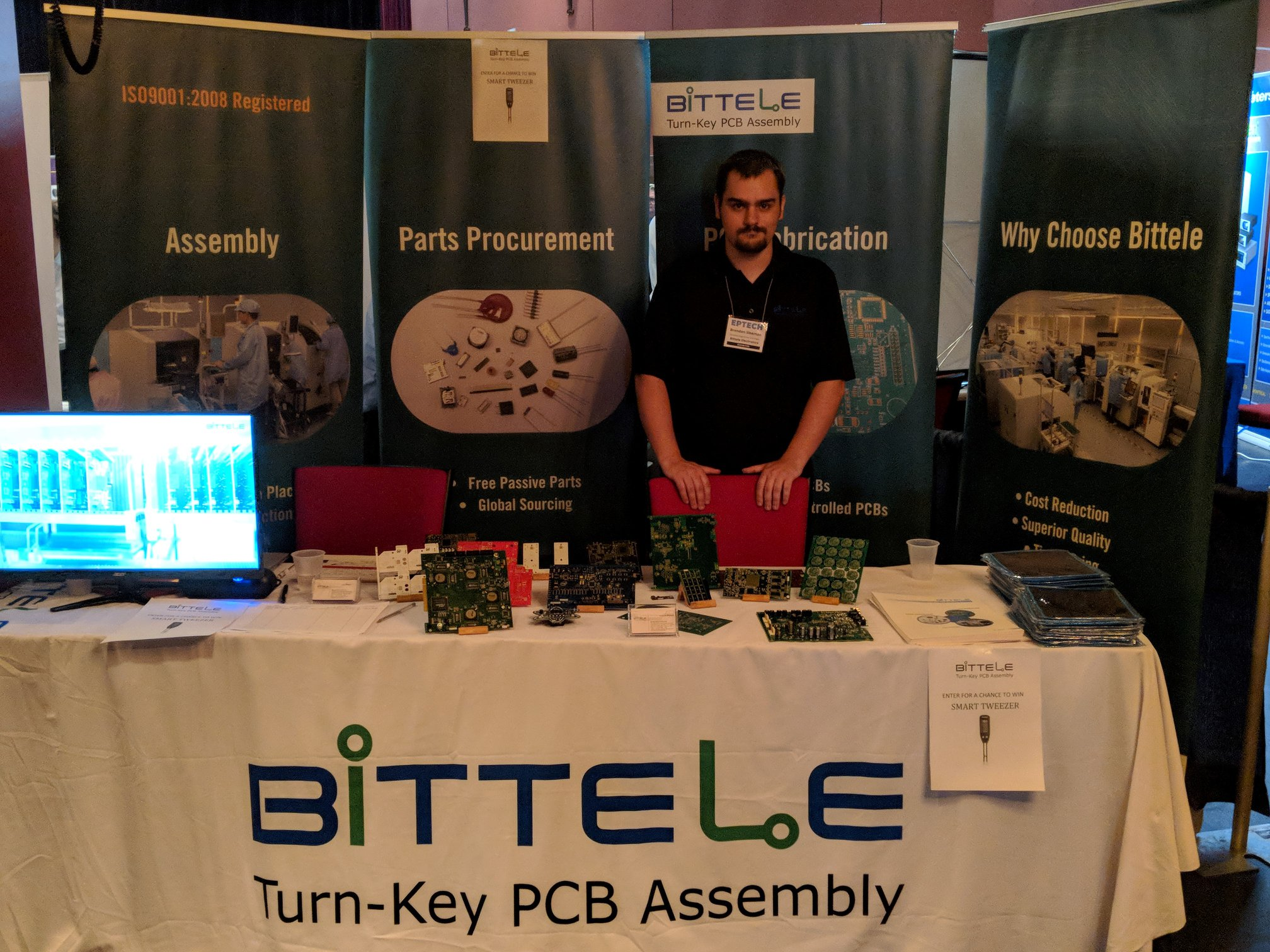 Eptech 2018 Bittele Electronics Contract Service Printed Circuit Board Assembly On Global Sources About
